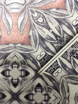 close up of our print detail!