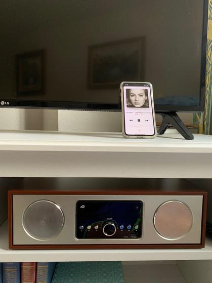 Micro-chaine- CD-Radio Blue Tooth