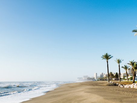 Plage de la Carihuela, la plage la plus étendue de Torremolinos
