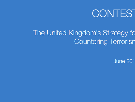 New UK counter-terrorism strategy: CONTEST