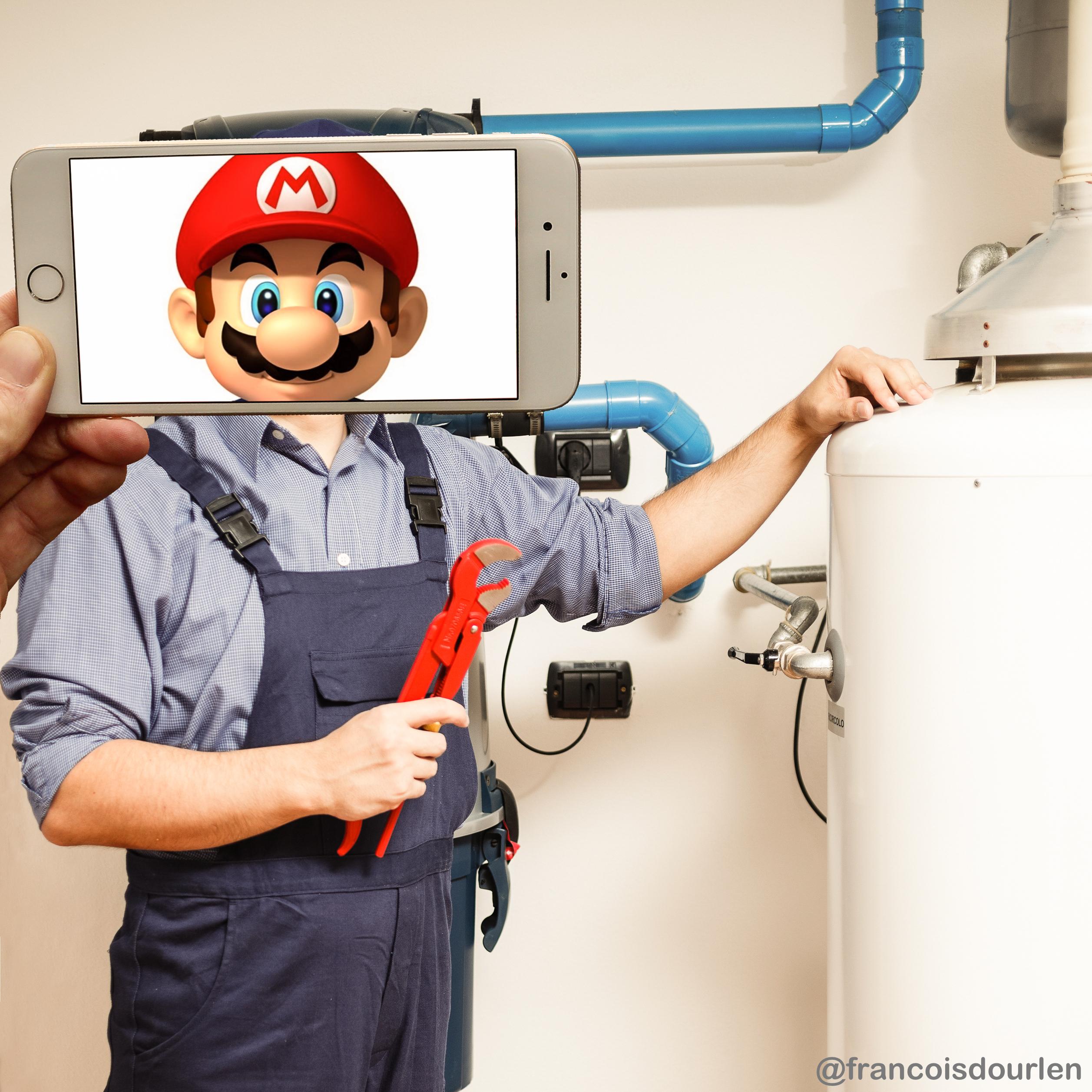 Mario plombier