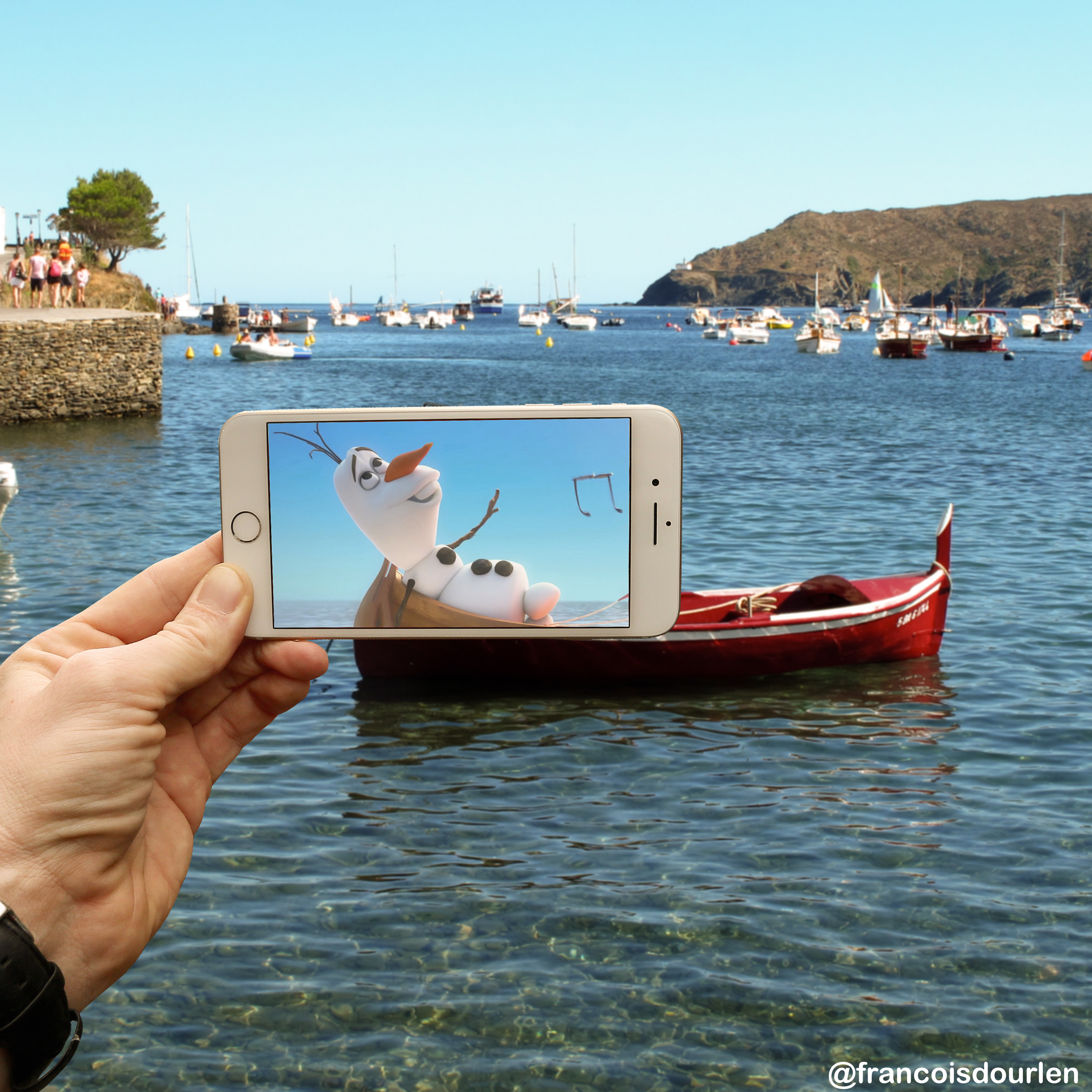 Olaf barque copie