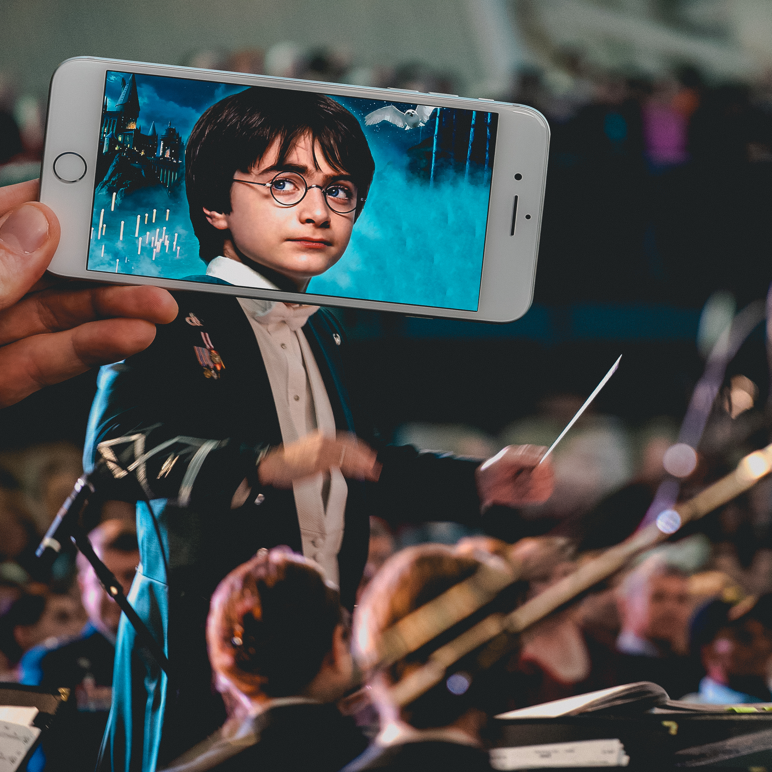 Harry potter chef orchestre copie