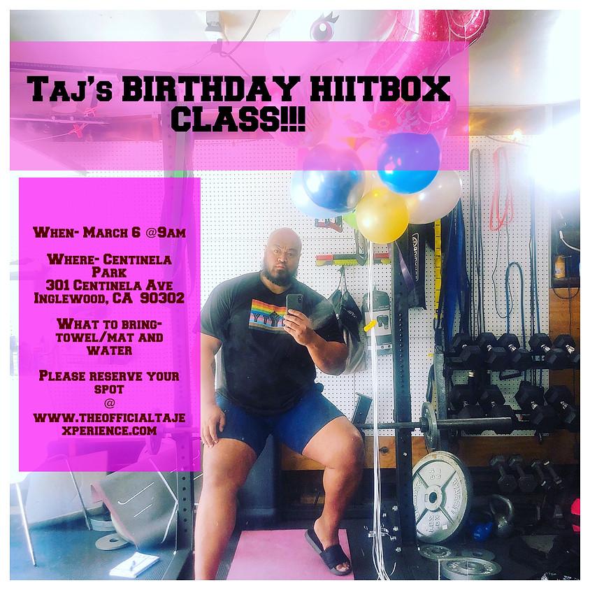 TAJ'S BIRTHDAY HIITBOX CLASS