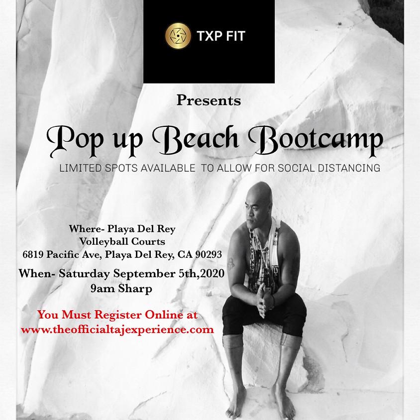 TXP FIT POP UP BEACH BOOTCAMP
