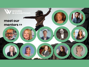Ed Tranter joins Women in Exhibitions as Mentor.
