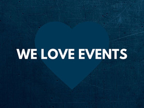 We love events.