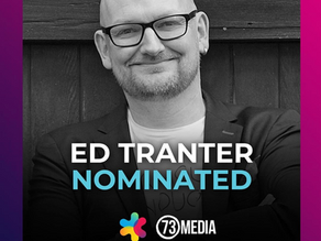 Ed Tranter, Founder of 73 Media nominated for Top 100 Most Influential People in the Events Industry