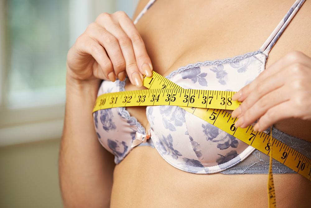 Bra size measurements