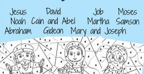 September 13th Children's Activities
