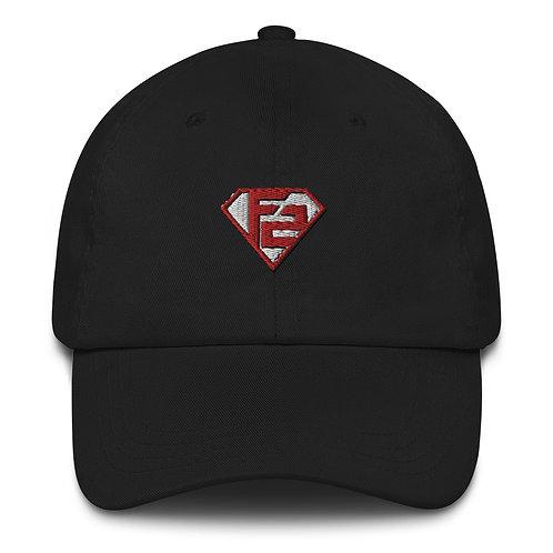 """Black Special Edition """"Superhero""""Dad Hat"""