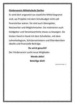 Förderverein Mittelschule Dorfen
