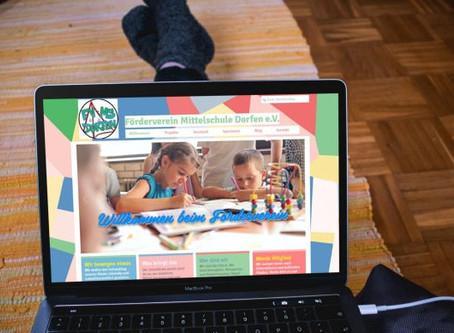 Die Webseite des Fördervereins geht live