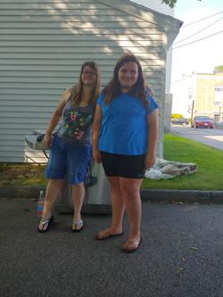 Ashley and Maya