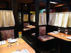 Booths for two