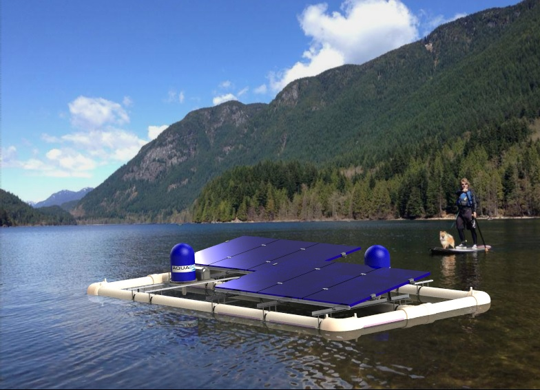 Autonomous water aeration for lakes