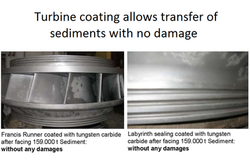 The turbine is not damaged