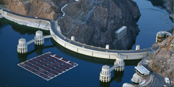 Water aeration for dams