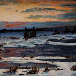Winter Evening Last Light