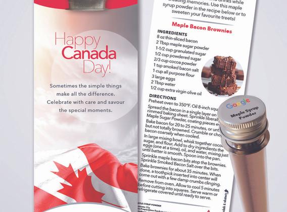 Maple Syrup Powder Sleeve Brownies (002)