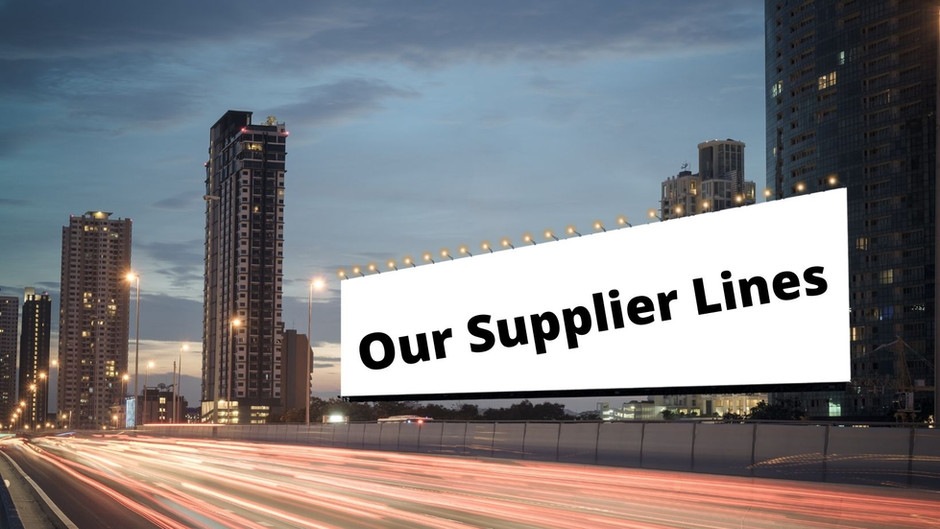 Our Supplier Lines