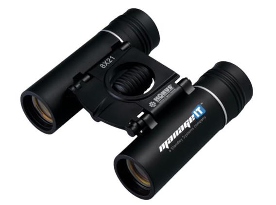8x21 Compact Binocular - Black - Item # 25775