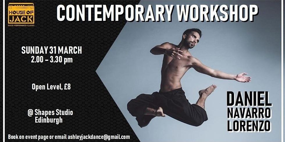 Contemporary Workshop with Daniel Lorenzo