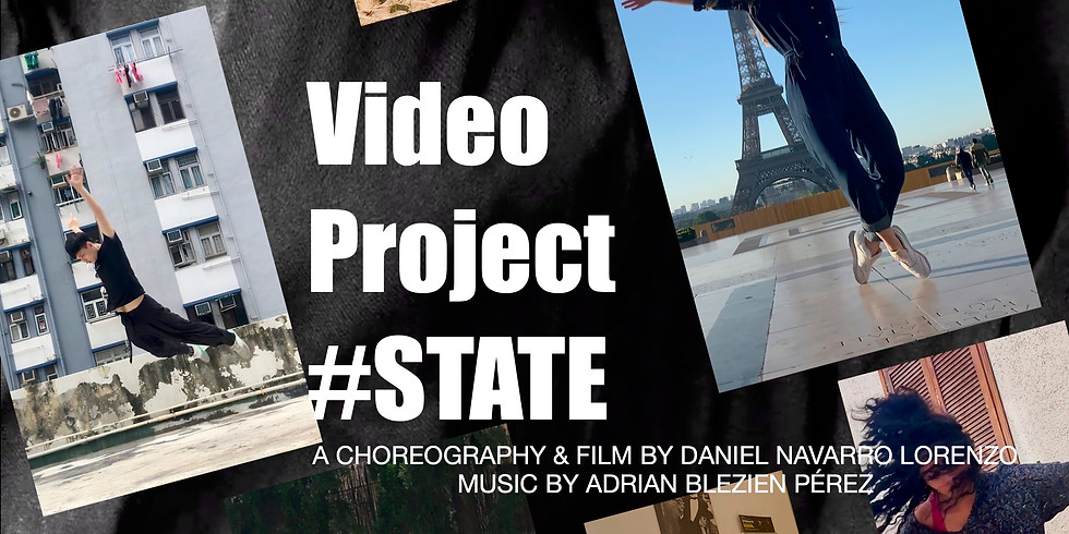 Video Project #STATE at Aberdeen Art Gallery, Dancelive 2020
