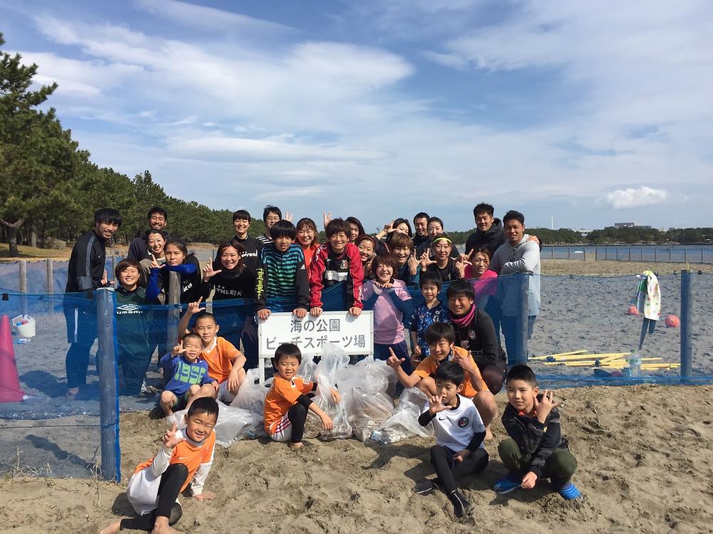 レーヴェ横浜 | 海への恩返しプロジェクト | ビーチクリーン