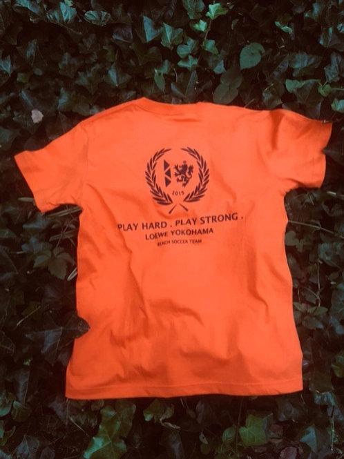 レーヴェオリジナルTシャツ(オレンジ/ブラック)
