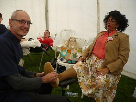 Patty Dumplin Foot Check!
