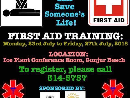 GDA to provide First Aid training for 60 to save lives