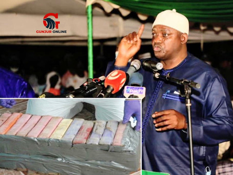 Sabally accuses Barrow gov't of guns, drugs trafficking