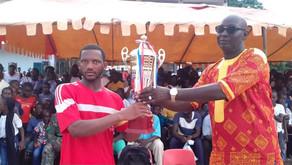 Football: Red Star Struggles But Laughs Last ln The Gunjur Super Cup Final