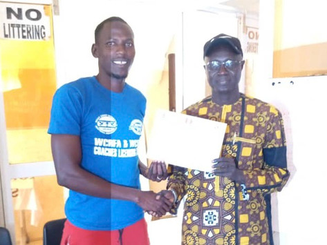 Fabakary Jatta completes Gambia Football Federation D License course