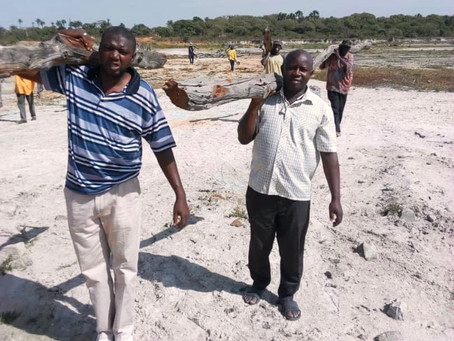 Gunjur sand mining site to be rehabilitated for agricultural production