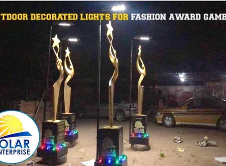 Solar Entreprise boosts Fashion Award Gambia