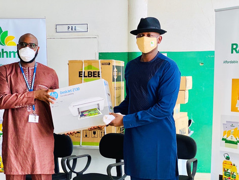 RAHMA GAMBIA DONATES D0.5 MILLION WORTH OF EQUIPMENT TO EFSTH