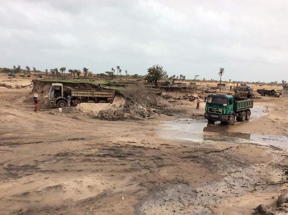 Gunjur Sand Mining Site