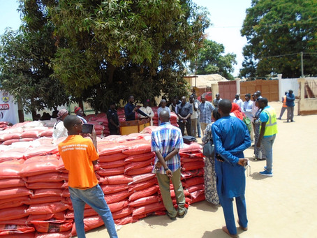 Covid-19: Brikama Area Council distributes 1860 bags of rice to councillors