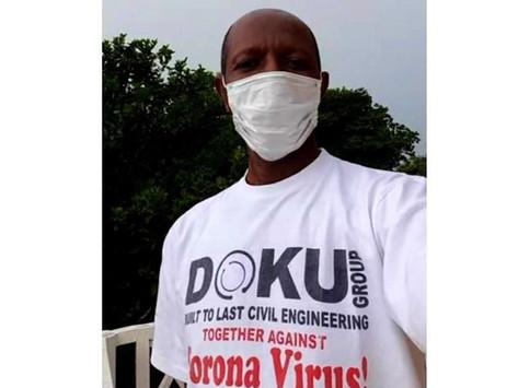Doku Group Gambia: Engineering company pays 1,000 Dalasi reward to encourage masking