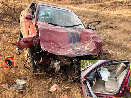 Another serious car accident in Gunjur causes injuries