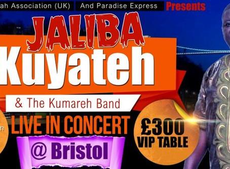 Jaliba Kuyateh LIVE in Bristol