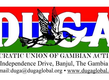 Press Release | DUGA Press Statement