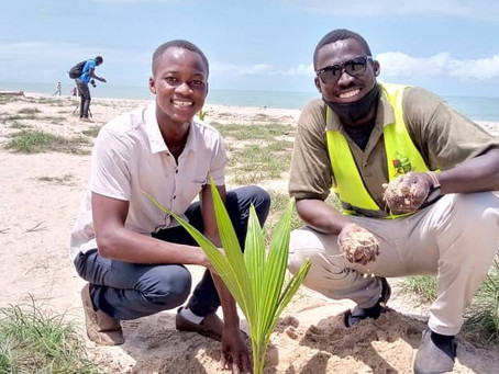 Over 1000 trees planted as GYM embarked upon the third phase of operation Green-up Gunjur crusade