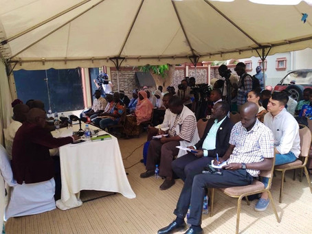 GAMBIA: J2J Holds Press Conference