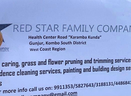 Red Star Family Company teams up with SUNU REEW and Wahktan Gambia to clean up EFSTH Sanatorium