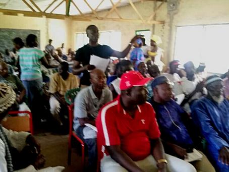 BAC laments lack of women participation at Gunjur VDC Annual General Meeting