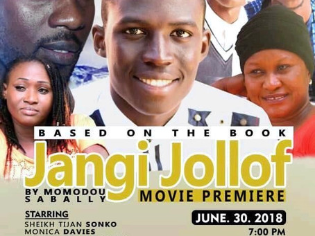 Momodou Sabally launches his First Movie, Jangi Jollof