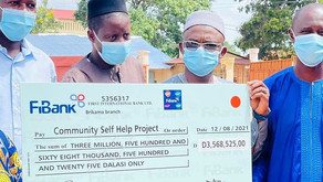 Brikama Area Council (BAC) disburses over GMD3.5M to 7 Communities in West Coast Region